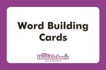 Word Building Cards with Augmented Reality